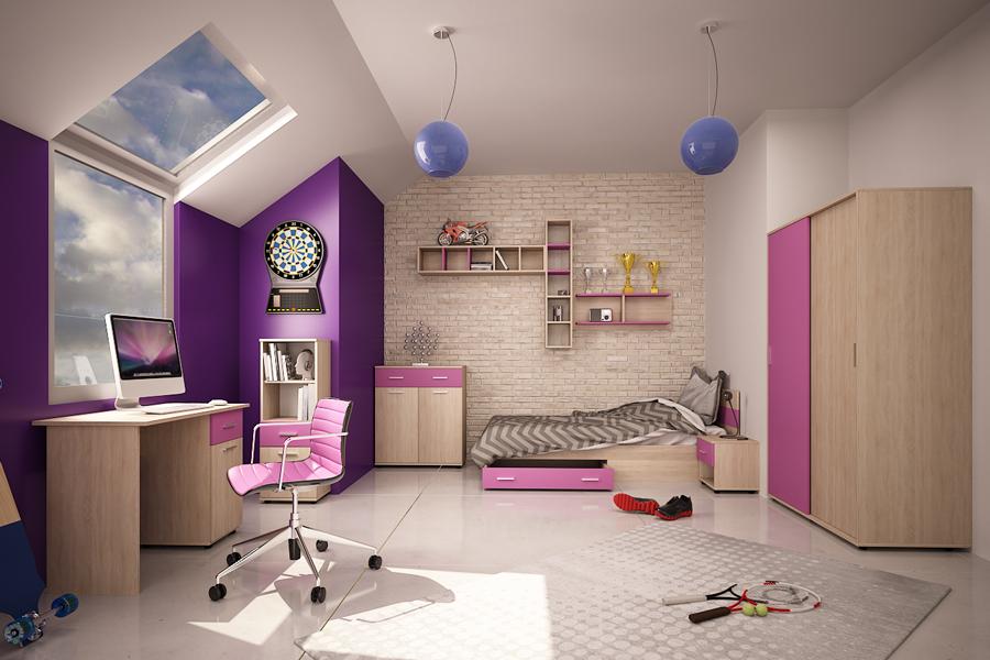 Παιδικό σετ Federico 34567-10-11-15 Violet c57274a100a