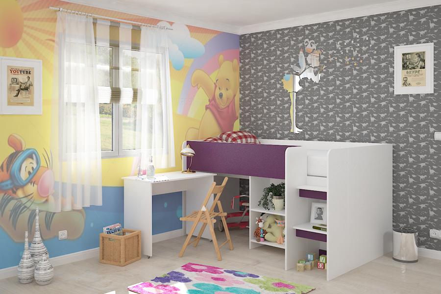 bbf07ec5a33 Παιδικό σετ Puzzle Violet