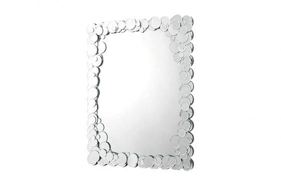 Καθρέπτης Celia Καθρέπτης Celia. Μοντέρνος καθρέπτης τοίχου με κορνίζα από  κυκλικούς καθρέπτες… 716580b41dd